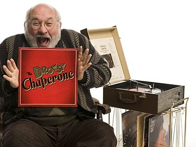 Jay Brazeau as Man in Chair in the 2008/09 season production of THE DROWSY CHAPERONE. photo by David Cooper