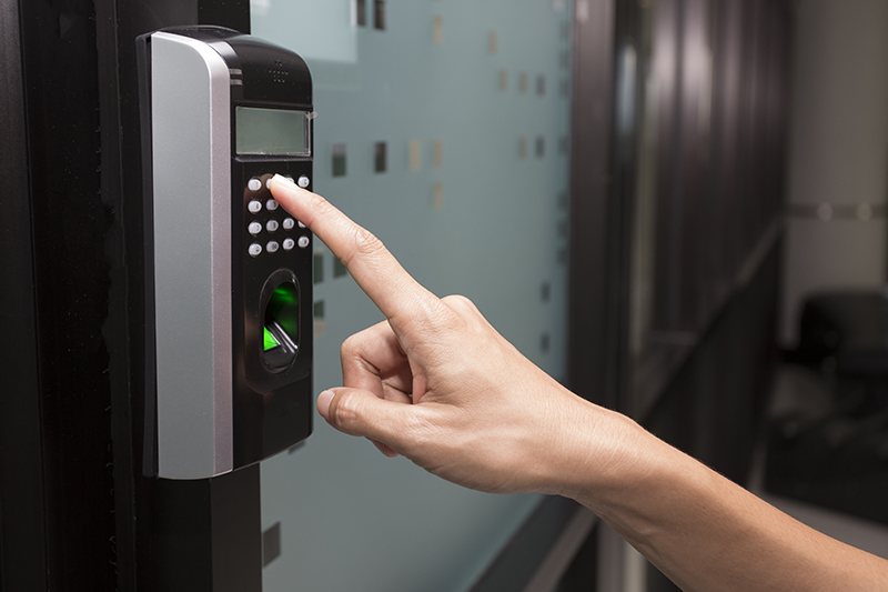 This Means That The Biometric Door Access System Has Three Key Components,  Such As The Sensor, Computer, And The Software. Biometric Thumbprint Works  By ...